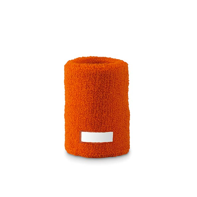 Sweat wristband  - orange