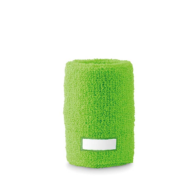 Sweat wristband  - lime