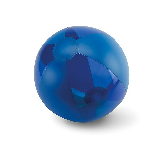 Inflatable beach ball  - blue