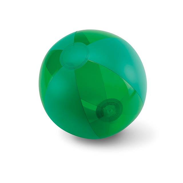 Nafukovacia plážová lopta - AQUATIME - zelená