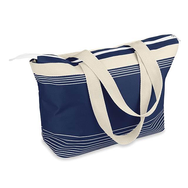 Plážová taška 600D/canvas - PALAWAN - modrá