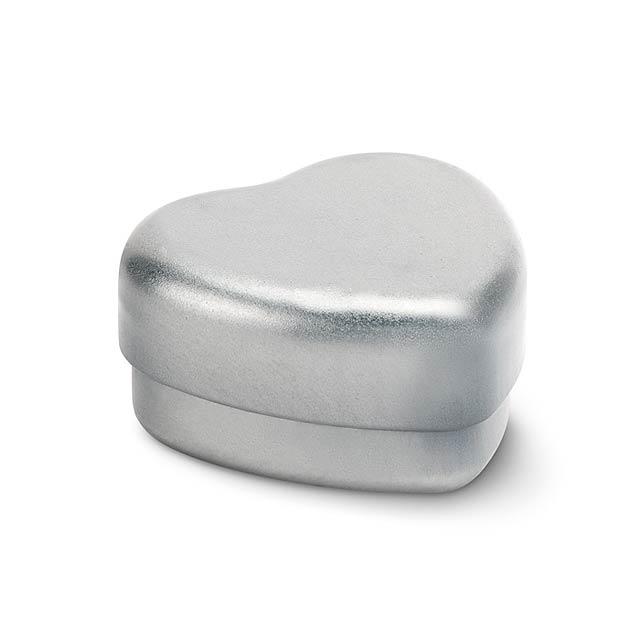 Balzám na rty ve tvaru srdce - BALMO COEUR - bílá