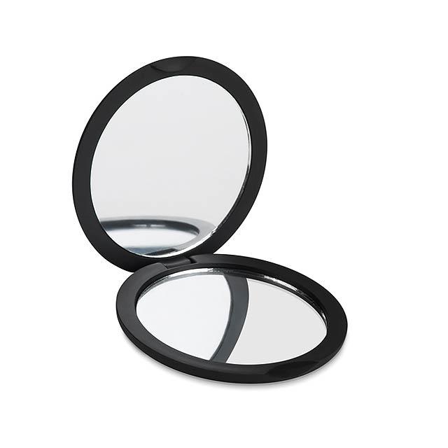 Zrcátko dvojité- STUNNING - černá