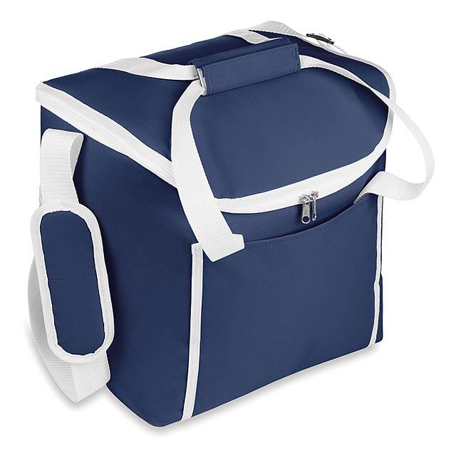 Chladící taška 600D polyester - INDO - modrá