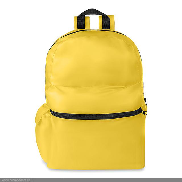 f13f7228fd Pláštenka a batoh - SURPRISE BAG - žltá