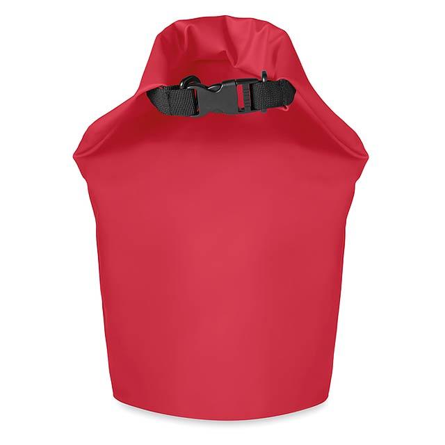 Voděodolný vak PVC 10L - SCUBA - červená
