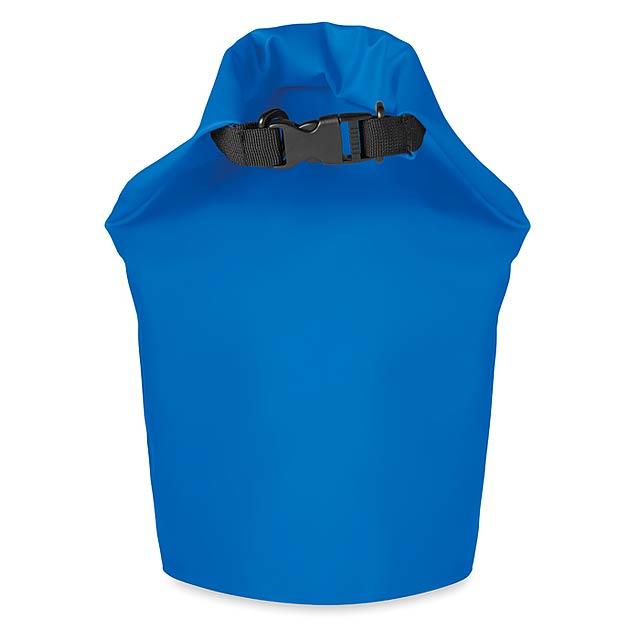 Voděodolný vak PVC 10L - SCUBA - královsky modrá