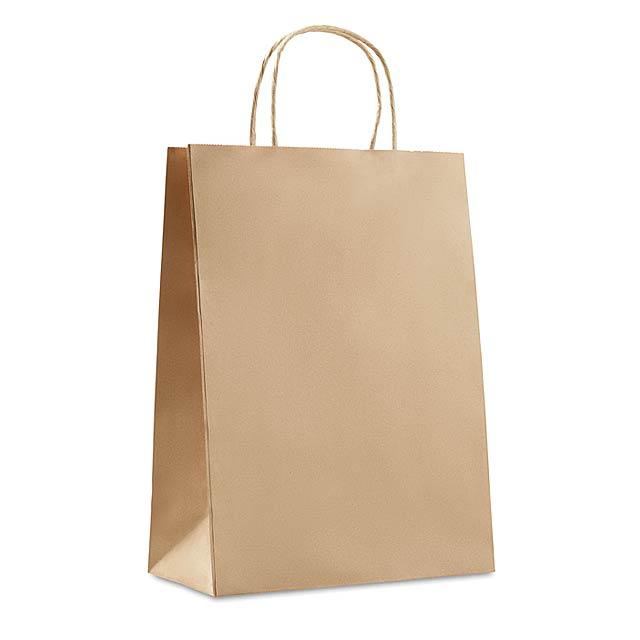 Velká dárková taška - PAPER LARGE - béžová