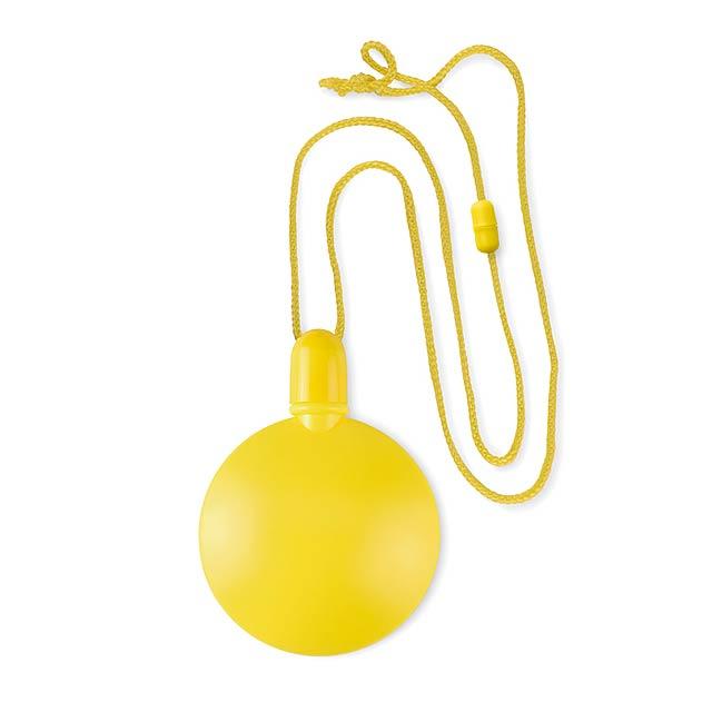Kulatý bublifuk - SOPLA ROUND - žlutá