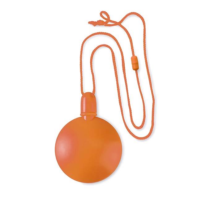 Kulatý bublifuk - SOPLA ROUND - oranžová