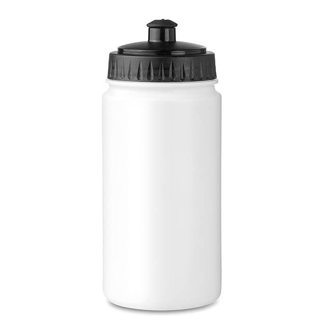 Sportovní láhev - SPOT FIVE - bílá