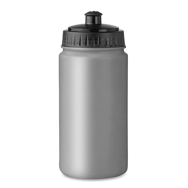 Láhev na pití - Spot Five - stříbrná mat