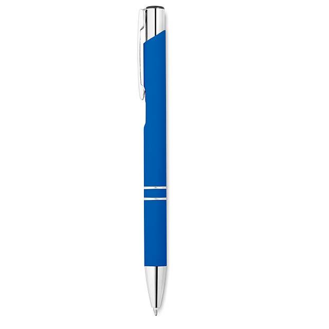 Kuličkové pero - AOSTA - královsky modrá