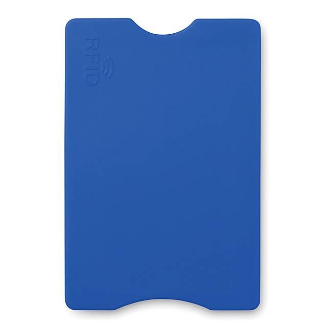RFID obal na platební kartu   - modrá