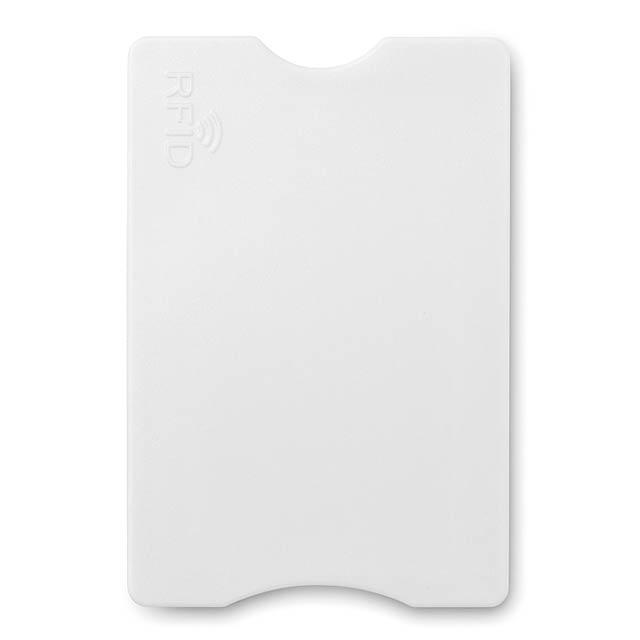 RFID obal na platební kartu   - bílá