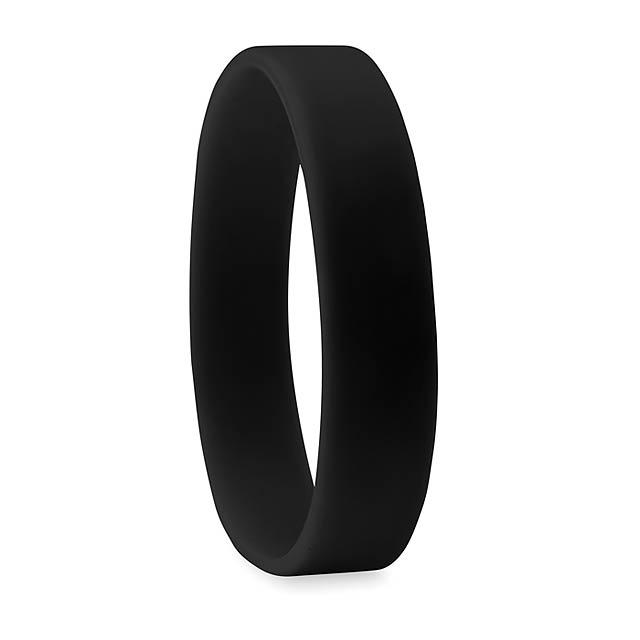 Silikonový náramek - EVENT - černá