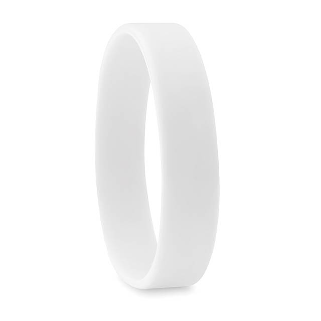 Silicone wristband - EVENT - white