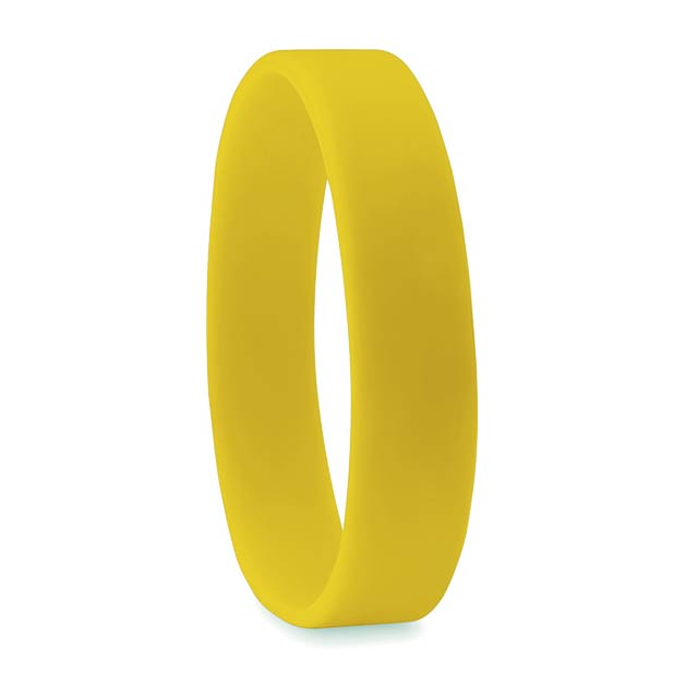 Silicone wristband             MO8913-08 - yellow