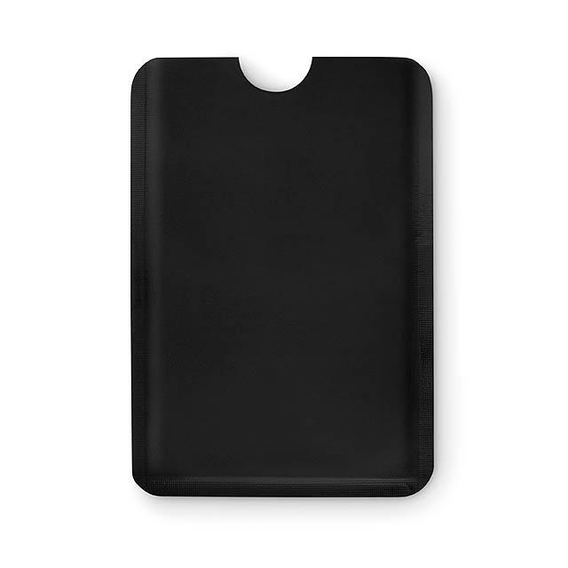 RFID obal na karty - GUARDIAN - černá