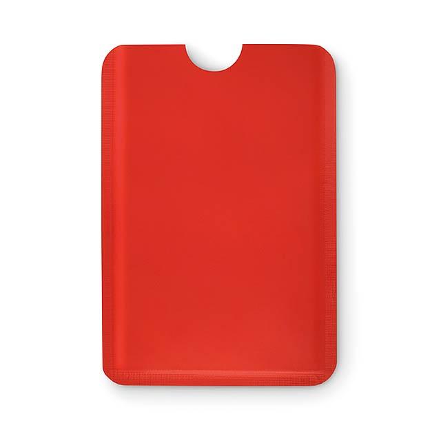 RFID obal na karty - GUARDIAN - červená