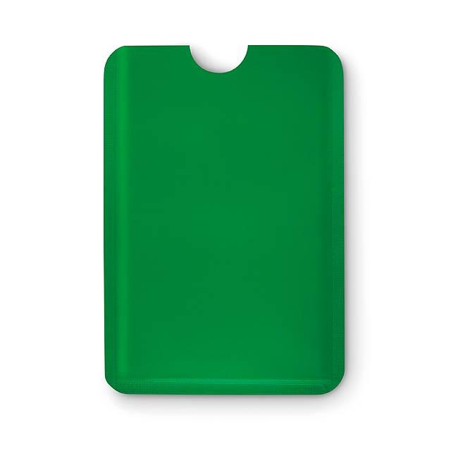 RFID obal na karty - GUARDIAN - zelená