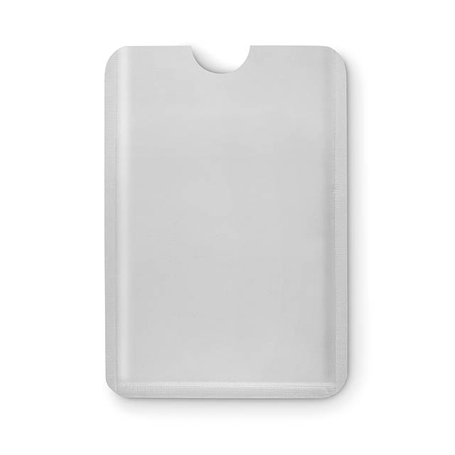 Plastic RFID data protector - GUARDIAN - mattes Silber