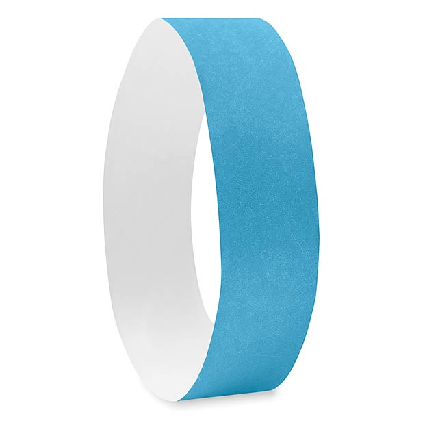 One sheet of 10 wristbands MO8942-12 - TYVEK# - turquoise