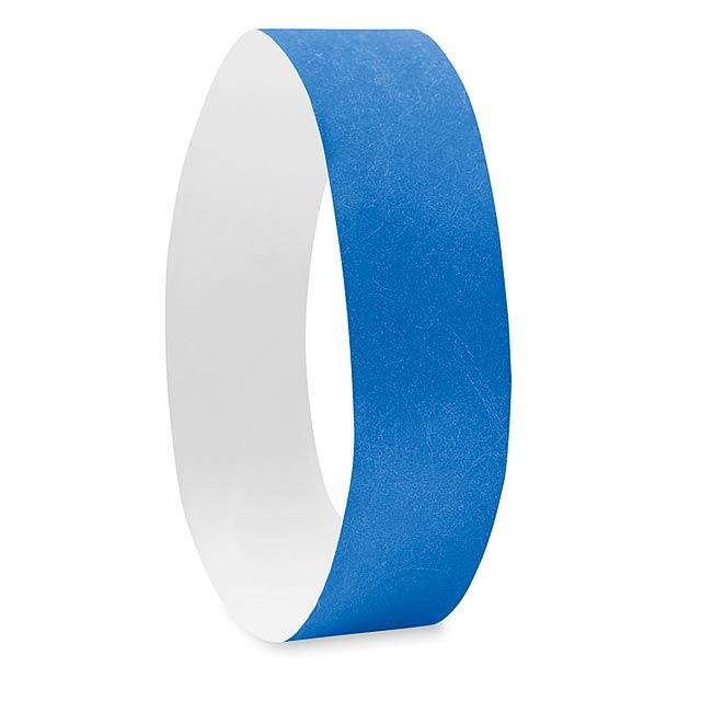 One sheet of 10 wristbands MO8942-37 - TYVEK# - royal blue