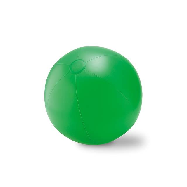Velký nafukovací plážový balon - PLAY - zelená