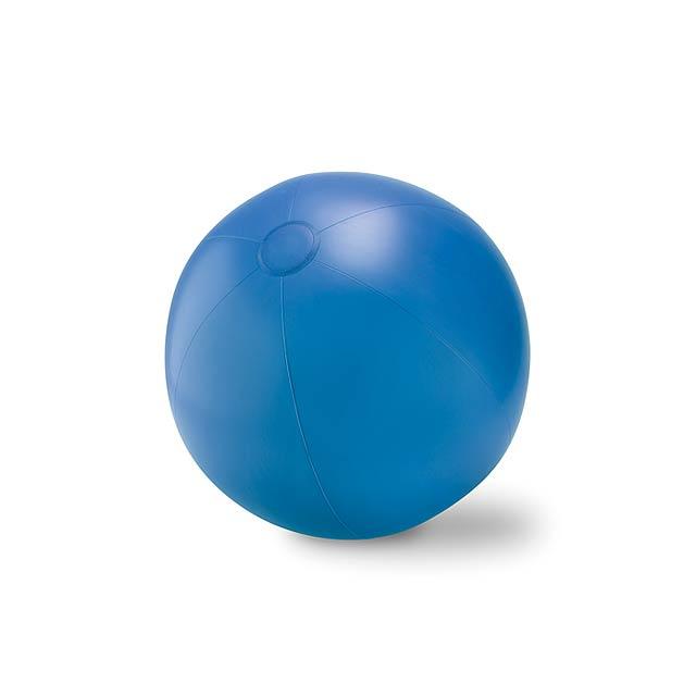 Velký nafukovací plážový balon - PLAY - královsky modrá