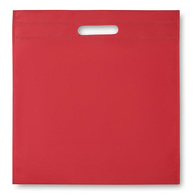 Nonwoven conference bag - GOODIE - red