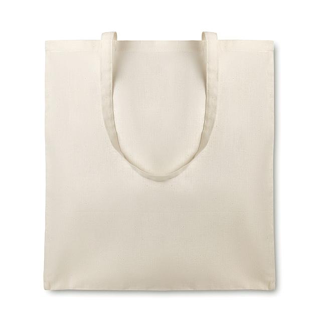 Nákupní taška organická bavlna - ORGANIC COTTONEL - béžová