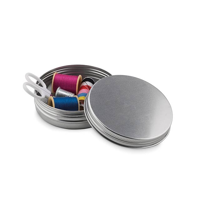 Sewing kit - CUCIRE - matt silver