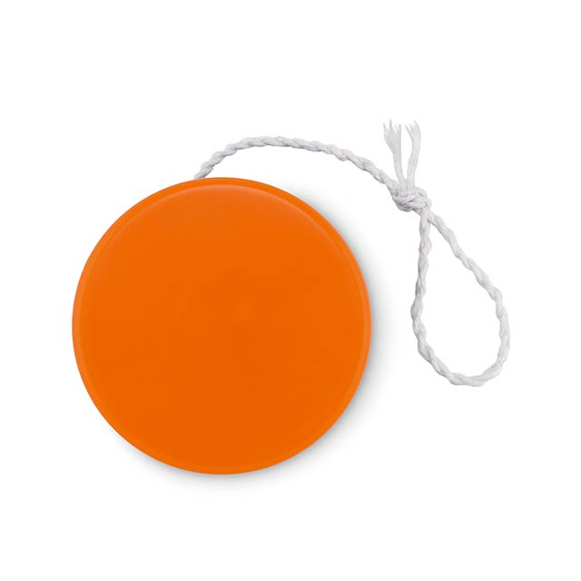 Plastic yoyo - FLATYO - orange