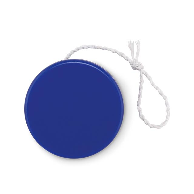 Plastic yoyo - FLATYO - royal blue