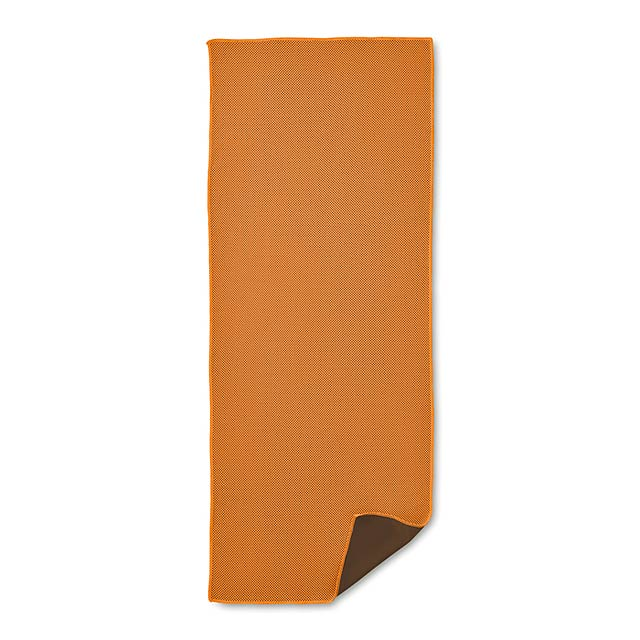 Sportovní ručník - TAORU - oranžová