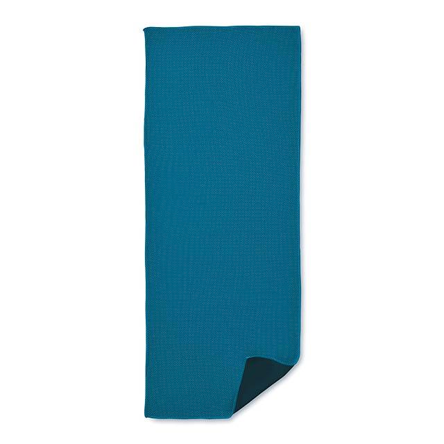 Sportovní ručník - TAORU - královsky modrá
