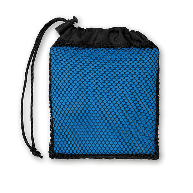 Sportovní ručník s obalem - TUKO - královsky modrá