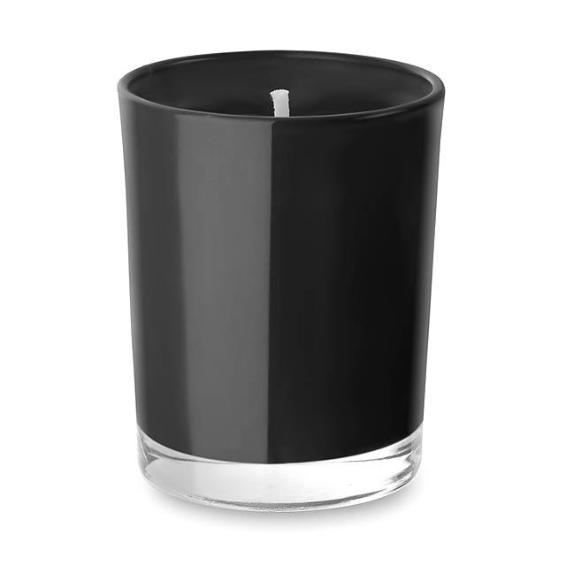 Malá svíčka ve skle- SELIGHT - černá