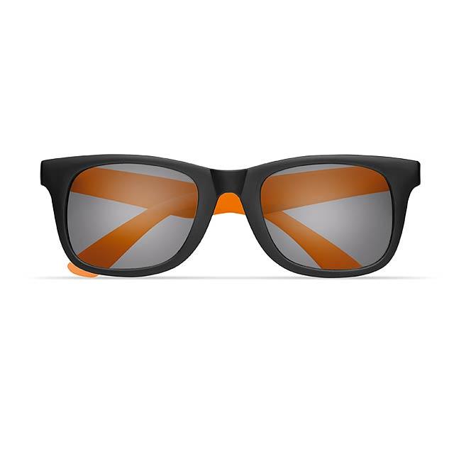 2 tone sunglasses - AUSTRALIA - orange
