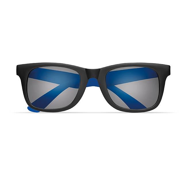 2 tone sunglasses - AUSTRALIA - royal blue