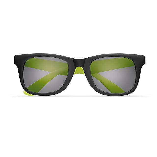 2 tone sunglasses - AUSTRALIA - lime
