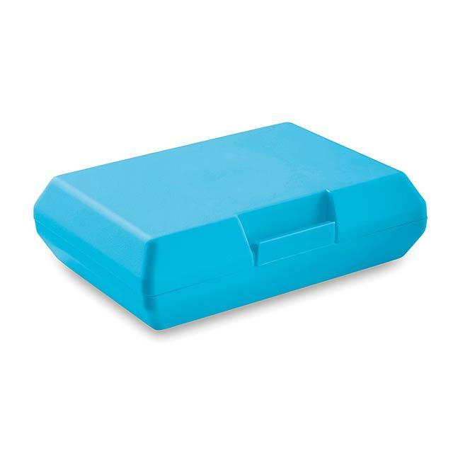 Krabička na oběd - základní- BASIC LUNCH - tyrkysová