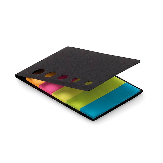 Sticky notes - MEMOSTICKY - schwarz