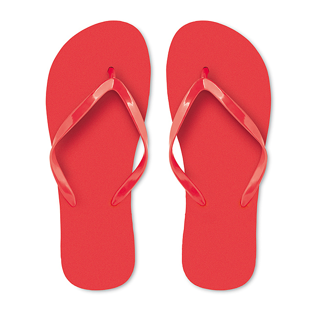 plážové žabky HONOLULU - červená 4fa6d7a552b