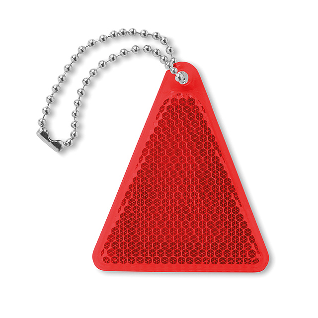 Reflector triangle shape  - red