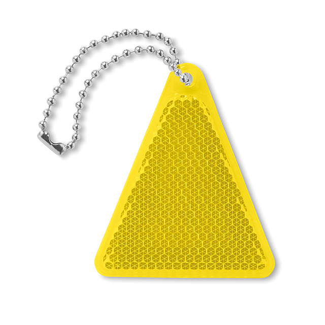 Reflector triangle shape  - yellow