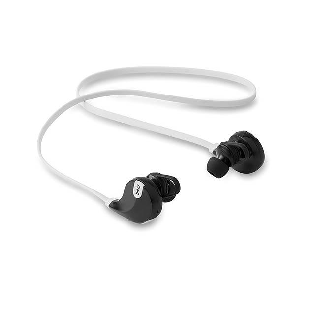 Bluetooth sluchátka - ROCKSTEP - bílá
