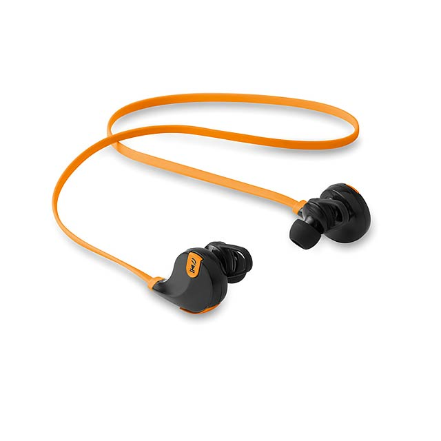 Bluetooth sluchátka - ROCKSTEP - oranžová