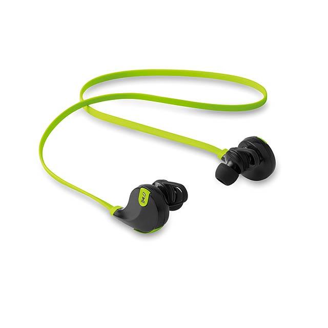 Bluetooth sluchátka - ROCKSTEP - citrónová - limetková